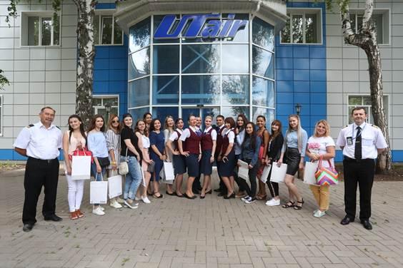 В аэропорту «Уфа» прошел мастер-класс в честь Всемирного дня бортпроводника