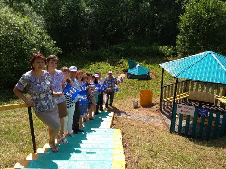 Татышлинцам вернули источник питьевой воды