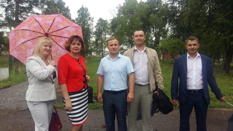 В Кигинском районе общественный контроль посетил Парк культуры