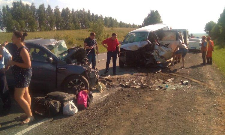 Страшное ДТП произошло на трассе М5 в Башкирии