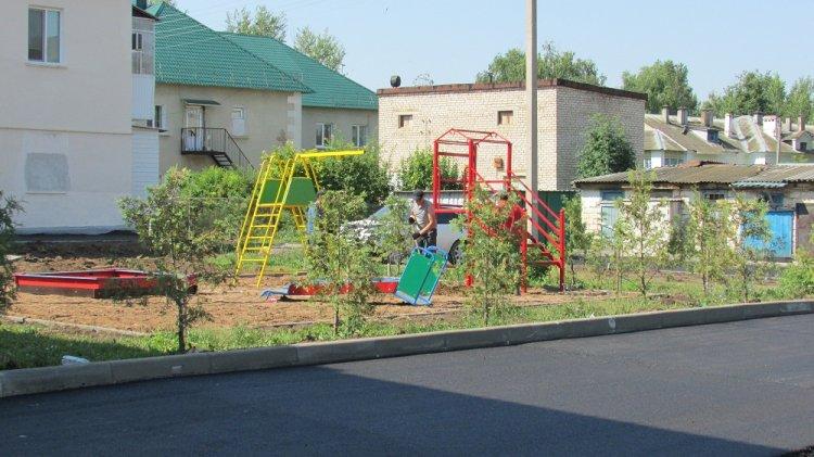 В городе Октябрьском работы по «Городской среде» подходят к завершению
