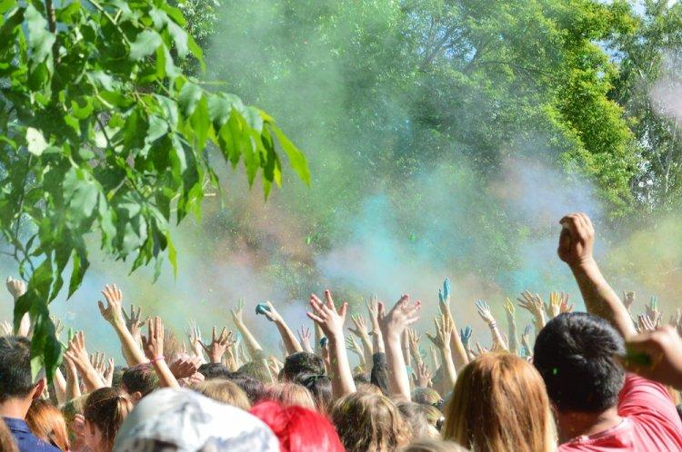 В Уфе пройдет Всероссийский фестиваль красок