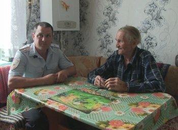 В Башкирии полицейский спас утопающего 82-летнего пенсионера