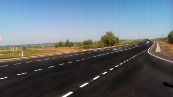 В Республике Башкортостан отремонтировали участок обхода города Кумертау