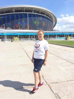 Волонтер из Стерлитамака работала на Чемпионате мира по футболу