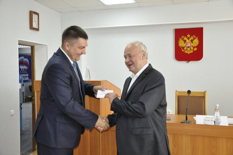 В Башкортостане состоялось вручение удостоверений кандидатам в депутаты от «Единой России»
