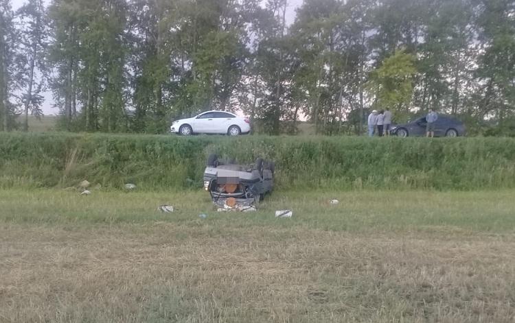 В Башкирии опрокинулся очередной автомобиль: водитель погиб