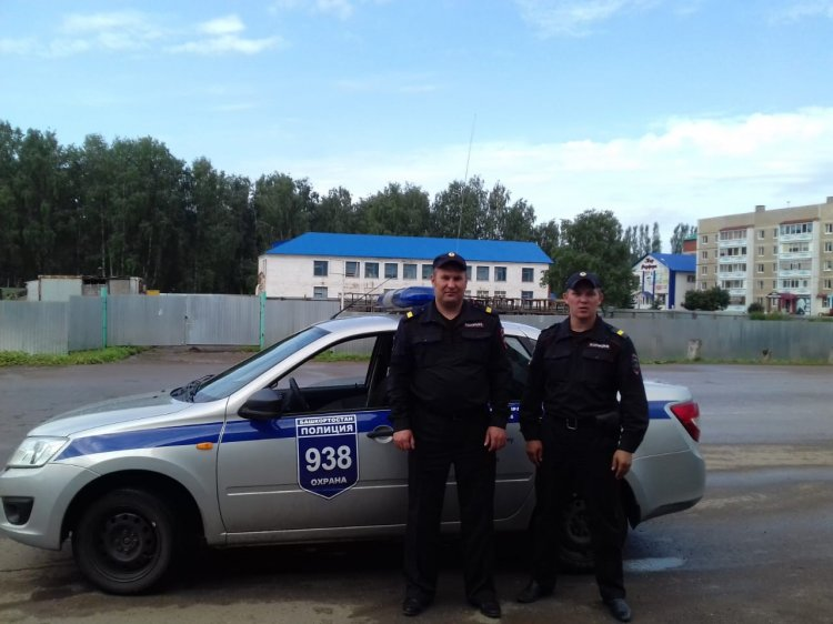 В Башкирии сотрудники вневедомственной охраны Росгвардии нашли потерявшуюся 6-летнюю девочку