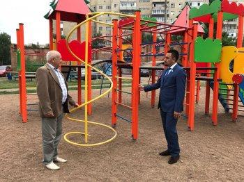 В Мелеузовском районе благодаря партийным проектам улучшается инфраструктура города и сел