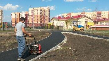 В Демском районе Уфы на благоустройство сквера выделено более миллиона рублей