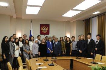 В Уфе Михаил Закомалдин встретился с победителями окружного форума «iВолга»