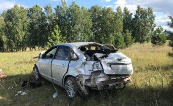 В Башкирии Ford Focus опрокинулся в кювет, есть жертвы