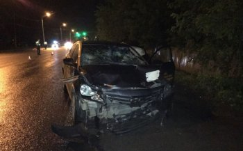 В Уфе «Hyundai Solaris» сбил двух мужчин, один скончался