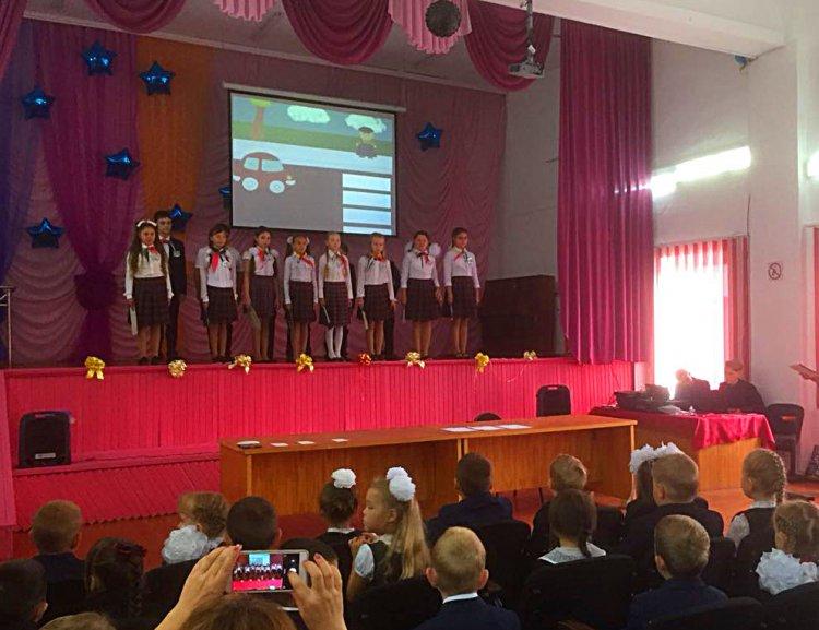 Акция «Посвящение в пешеходы» шагает по Башкирии