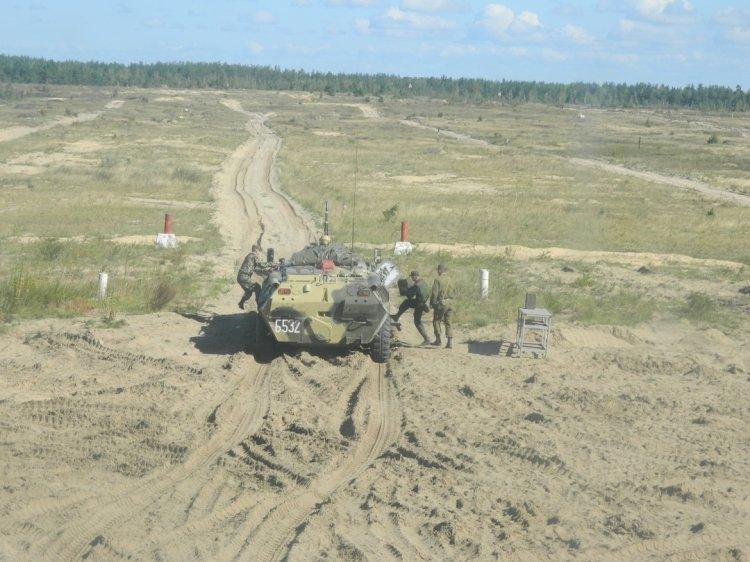 Лучшими  наводчиками пулеметов БТР в Приволжском округе стали военнослужащие уфимского отряда спецназа Росгвардии
