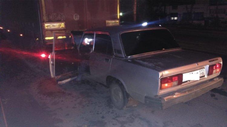 В Уфе пьяный 60-летний водитель переломал рёбра в ДТП