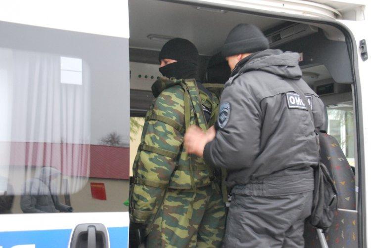 В Башкортостане взрывотехники ОМОНа Росгвардии обследовали подозрительный предмет
