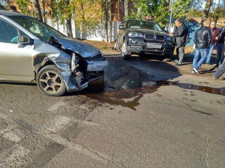 В Салавате в ДТП женщина-водитель получила сотрясение мозга