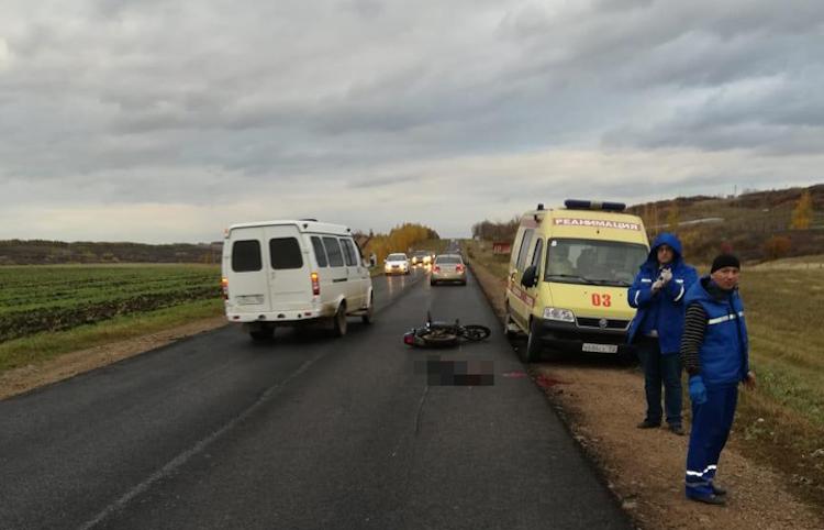 В Башкирии в ДТП погиб 46-летний мотоциклист