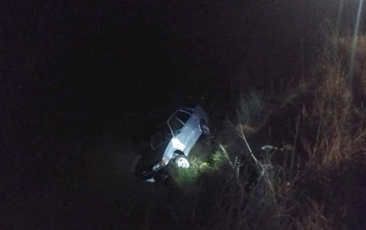 В Башкирии автомобиль упал в реку — водитель не успел выбраться