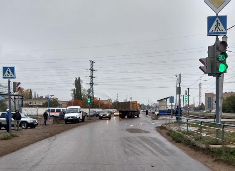В Салавате грузовик сбил 60-летнюю женщину