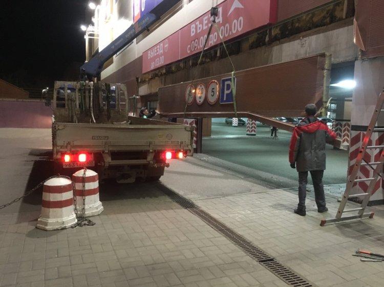В Стерлитамаке обрушилась часть торгового центра «Фабри»