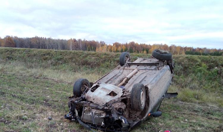 Очередной «перевертыш» в Башкирии привел к гибели водителя