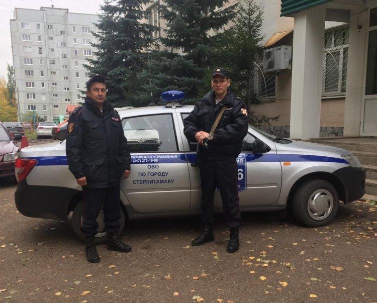В Стерлитамаке росгвардейцы предотвратили кражу из гаража