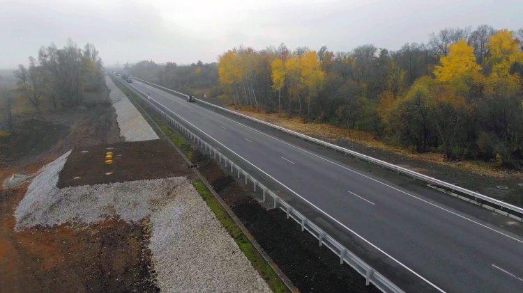 В Башкирии введены 6 км автомобильной дороги Р-240 Уфа-Оренбург