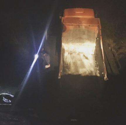 В Белорецком районе Башкирии КамАЗ оставил деревню без моста