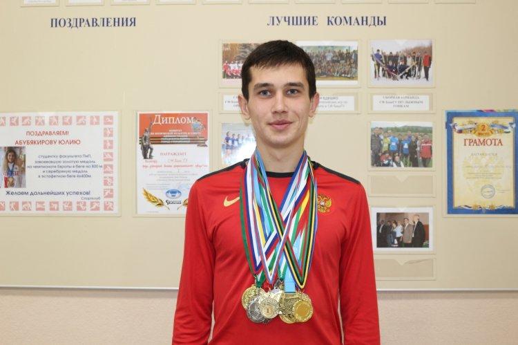 Студент из Стерлитамака завоевал «серебро» чемпионата России