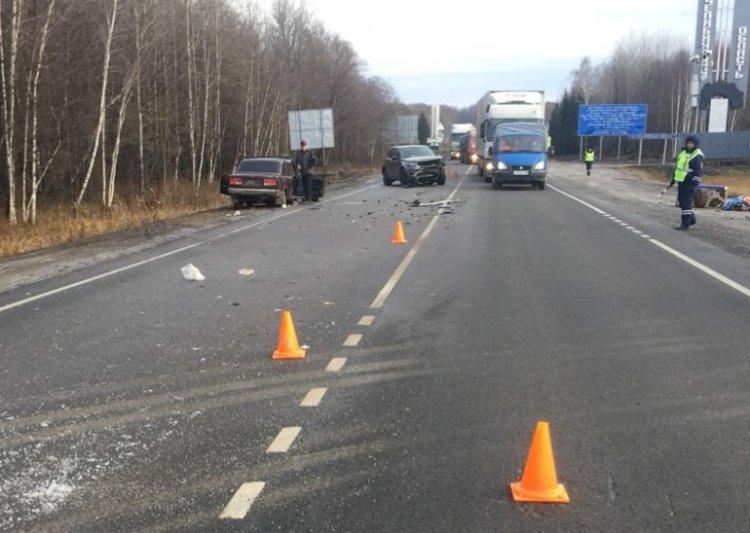 Смертельное ДТП: в Башкирии ВАЗ-2107 не уступил дорогу Land Rover Discovery Sport