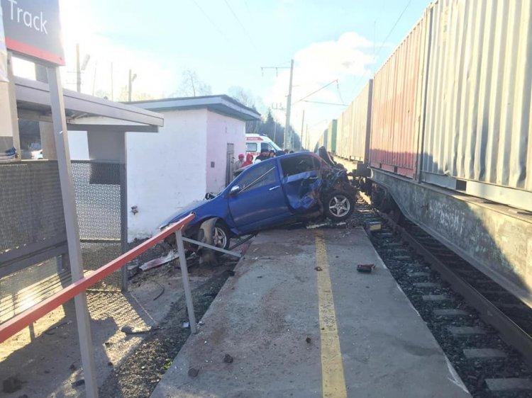 В Башкирии водитель автомобиля «Lifan» погиб в ДТП с поездом