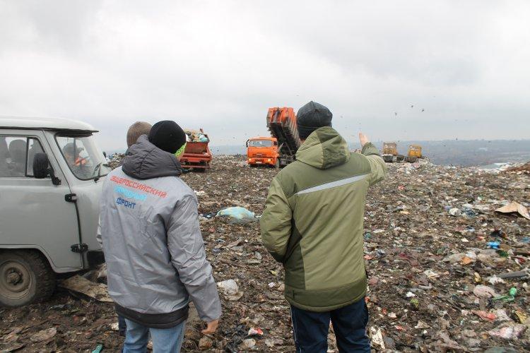 Эксперты ОНФ в Башкортостане оценили состояние полигона около поселка Новые Черкассы