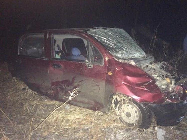 В Башкирии водитель «Матиза» вылетел в кювет. Есть пострадавшие