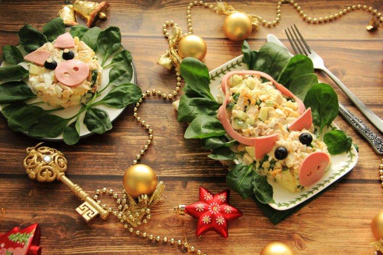 Что должно быть на Новогоднем столе 2019, в год Свиньи (Кабана)
