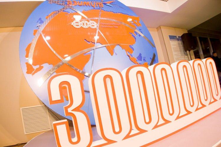 Впервые пассажиропоток аэропорта «Уфа» превысил 3 млн человек