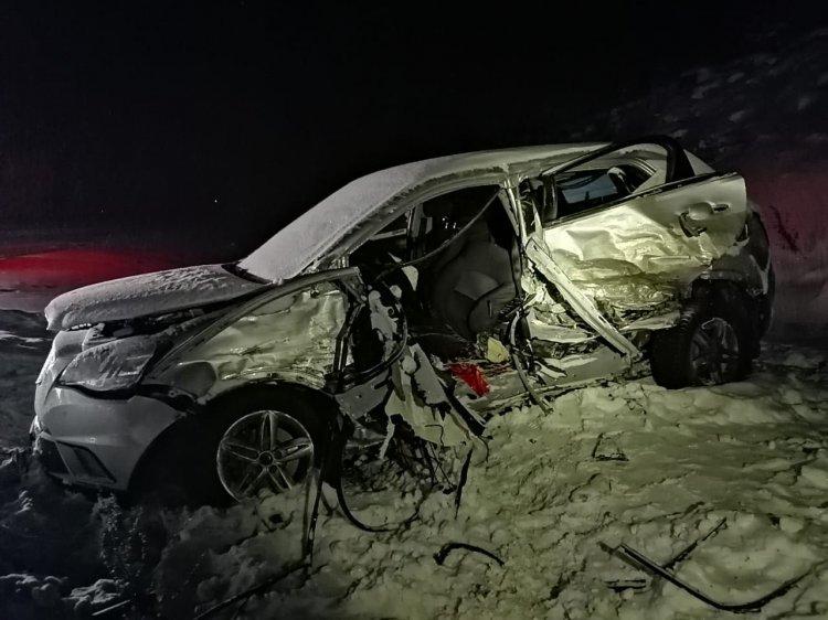 В Башкирии столкнулись две «легковушки»: пострадали 2 взрослых и 4 детей