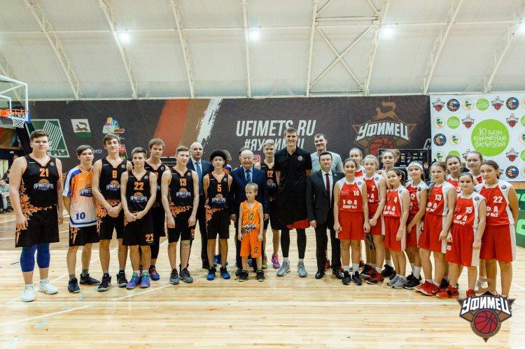 Президент Российской Федерации БаскетболаАндрей Кириленко с рабочим визитом посетил Уфу