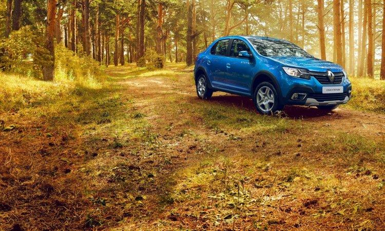 В России поступили в продажу новые Renault Logan Stepway и Sandero Stepway