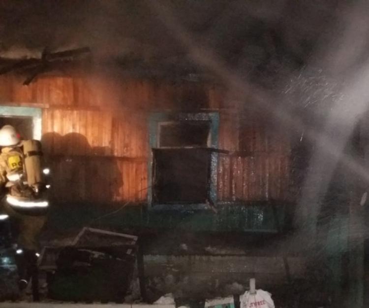 В Башкирии четыре человека погибли при пожаре