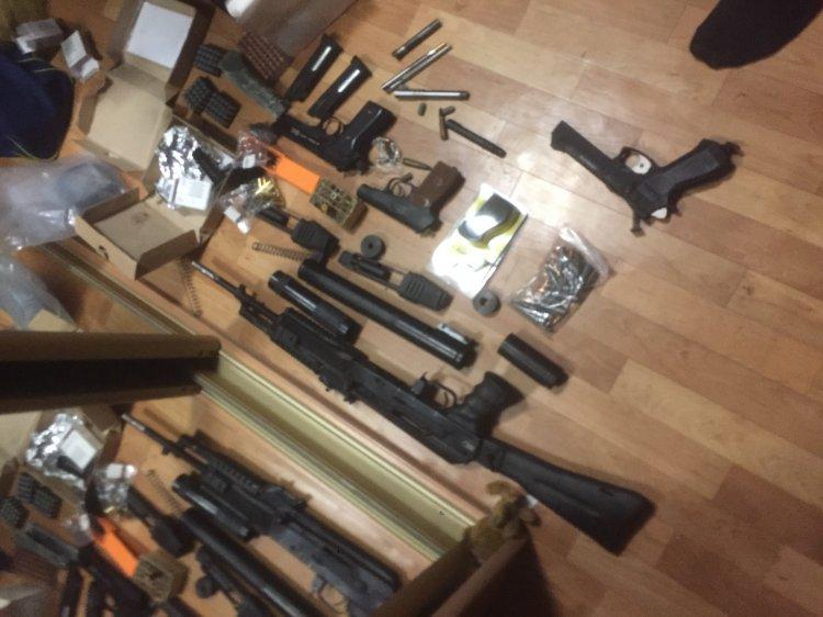 Арсенал огнестрельного оружия изъяли силовики у жителя Башкирии