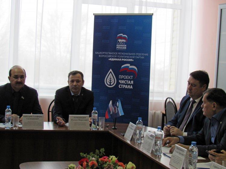Рустем Ахмадинуров: Необходимо наладить эффективный партийный контроль затопления шахты Сибайского карьера