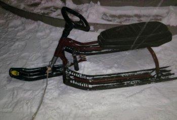 В Башкирии росгвардейцы задержали двух мужчин, похитивших детский снегокат