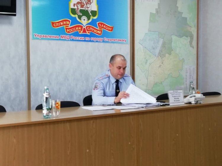 Полицейские Стерлитамака встретились с представителями частных охранных организаций