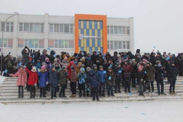 В Кумертау состоялся школьный флешмоб