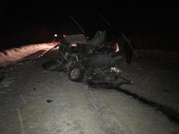 В Башкирии в страшном ДТП с грузовиком погиб 19-летний пассажир Opel Astra