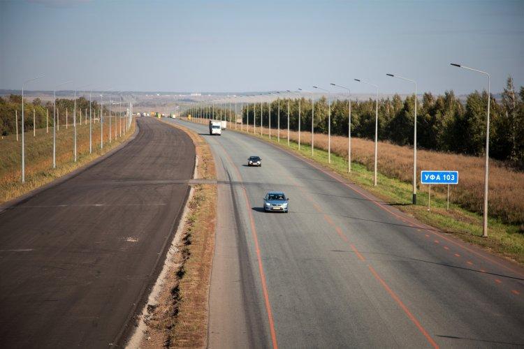 В Башкирии более 30 км трассы М-5 «Урал» расширят до шести полос к 2024 году