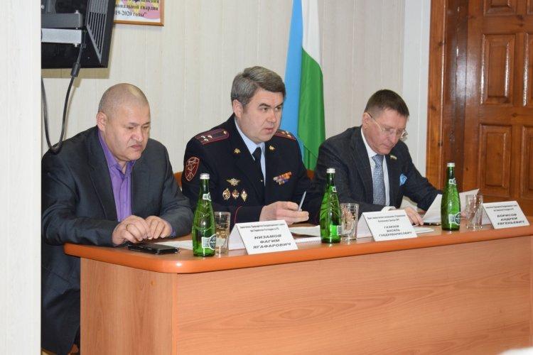 В Уфе на заседании Координационного совета Росгвардии наградили сотрудников ЧОПов
