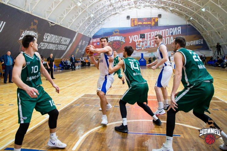 Баскетболисты «Уфимца» готовятся к серии домашних игр Суперлиги